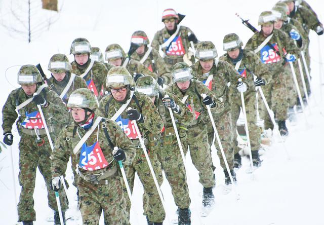 画像: 第25普通科連隊(遠軽駐)