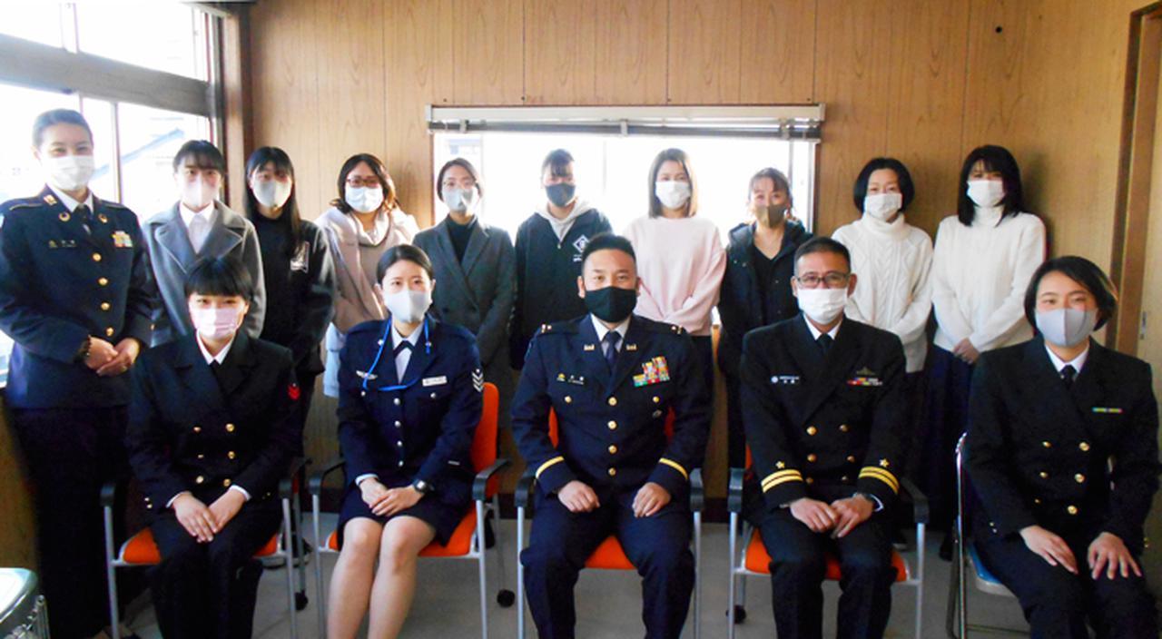画像3: 海空自の女性隊員とのガールズトークで不安解消|群馬地本