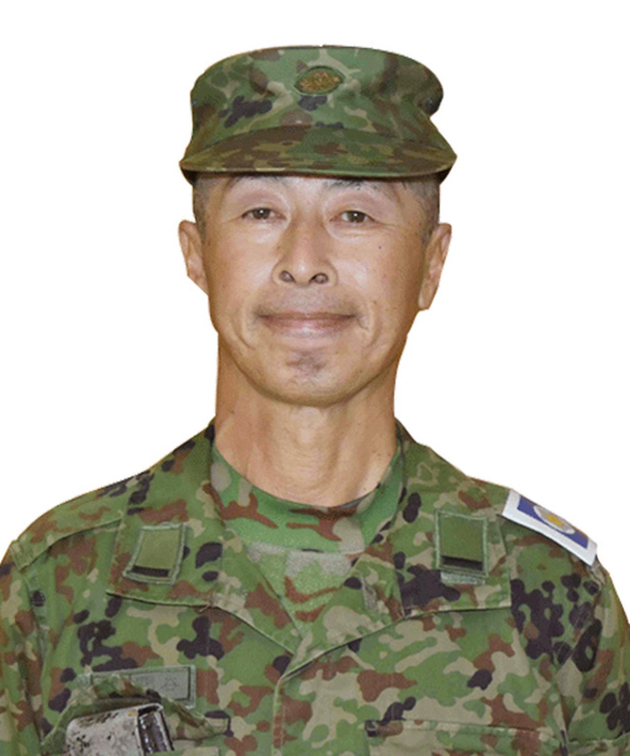 画像: 関谷 悦史 予備准陸尉