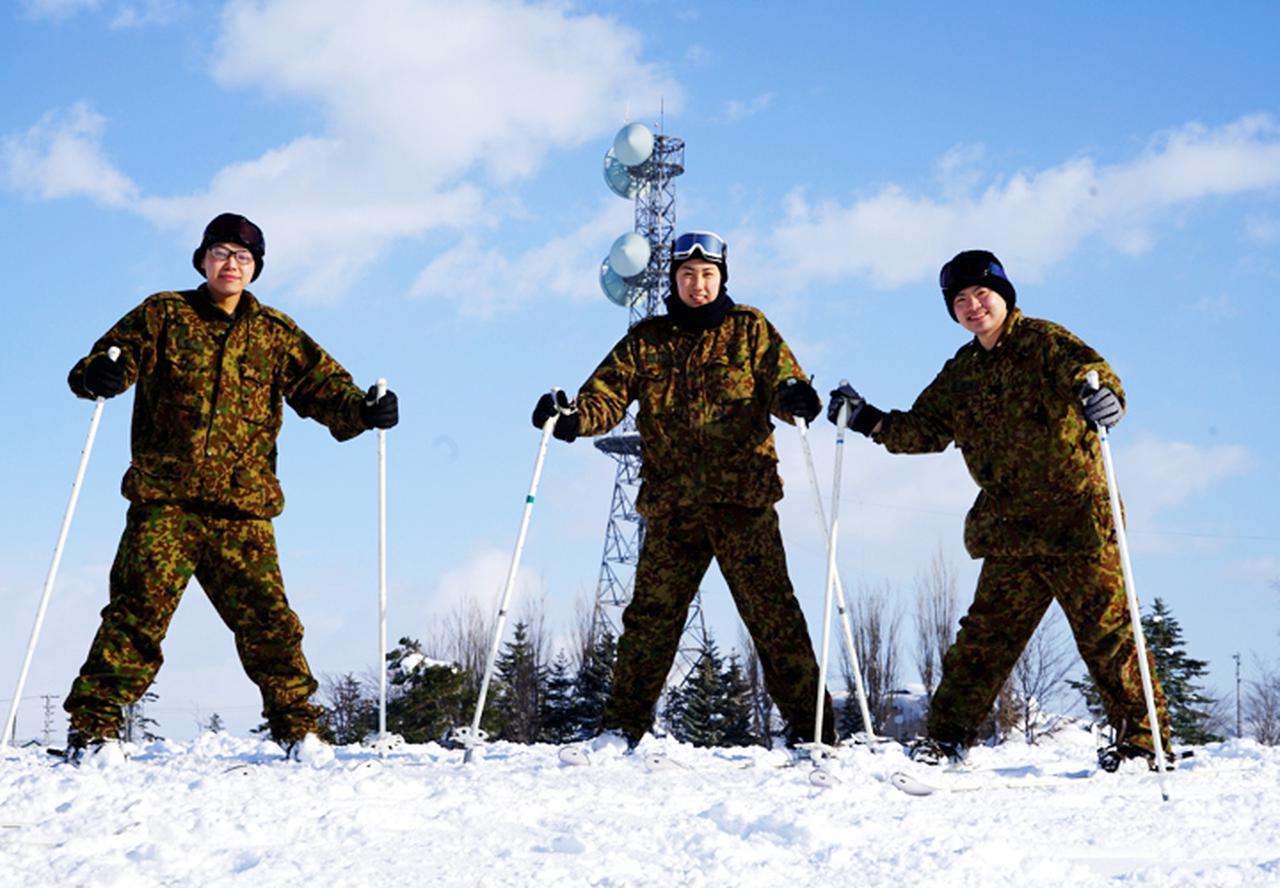 画像5: 官品スキー未経験者19人が積雪地集合訓練 岩見沢駐屯地