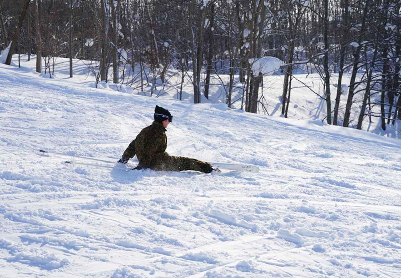 画像8: 官品スキー未経験者19人が積雪地集合訓練 岩見沢駐屯地