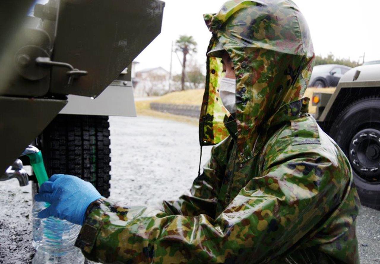 画像3: 【災害派遣】最大震度6強 福島県で給水支援活動 防衛省・自衛隊