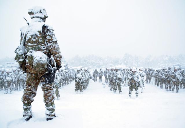 画像5: 雪舞う中、22即応機動連隊が第7次連隊野営訓練|多賀城駐屯地