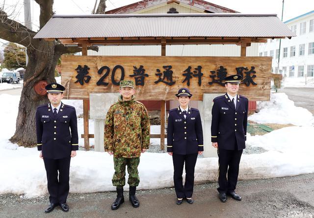 画像1: 20普連に幹部候補生3人着隊 幹部の一歩踏み出す|神町駐屯地