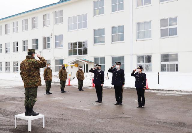 画像3: 20普連に幹部候補生3人着隊 幹部の一歩踏み出す|神町駐屯地