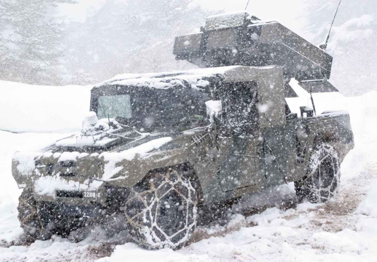 画像14: 雪舞う中、22即応機動連隊が第7次連隊野営訓練 多賀城駐屯地
