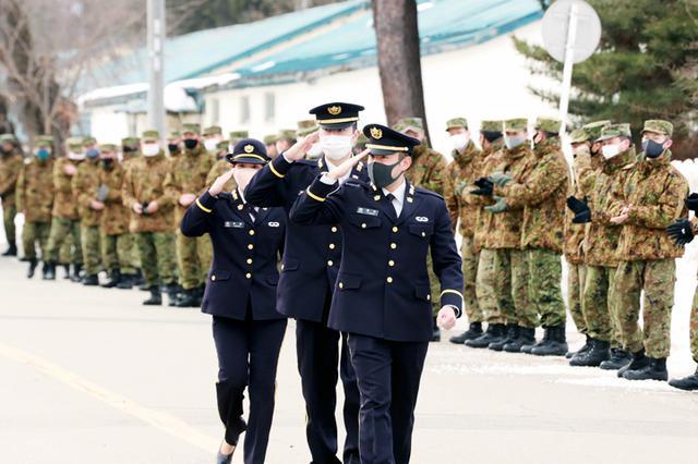 画像2: 20普連に幹部候補生3人着隊 幹部の一歩踏み出す|神町駐屯地