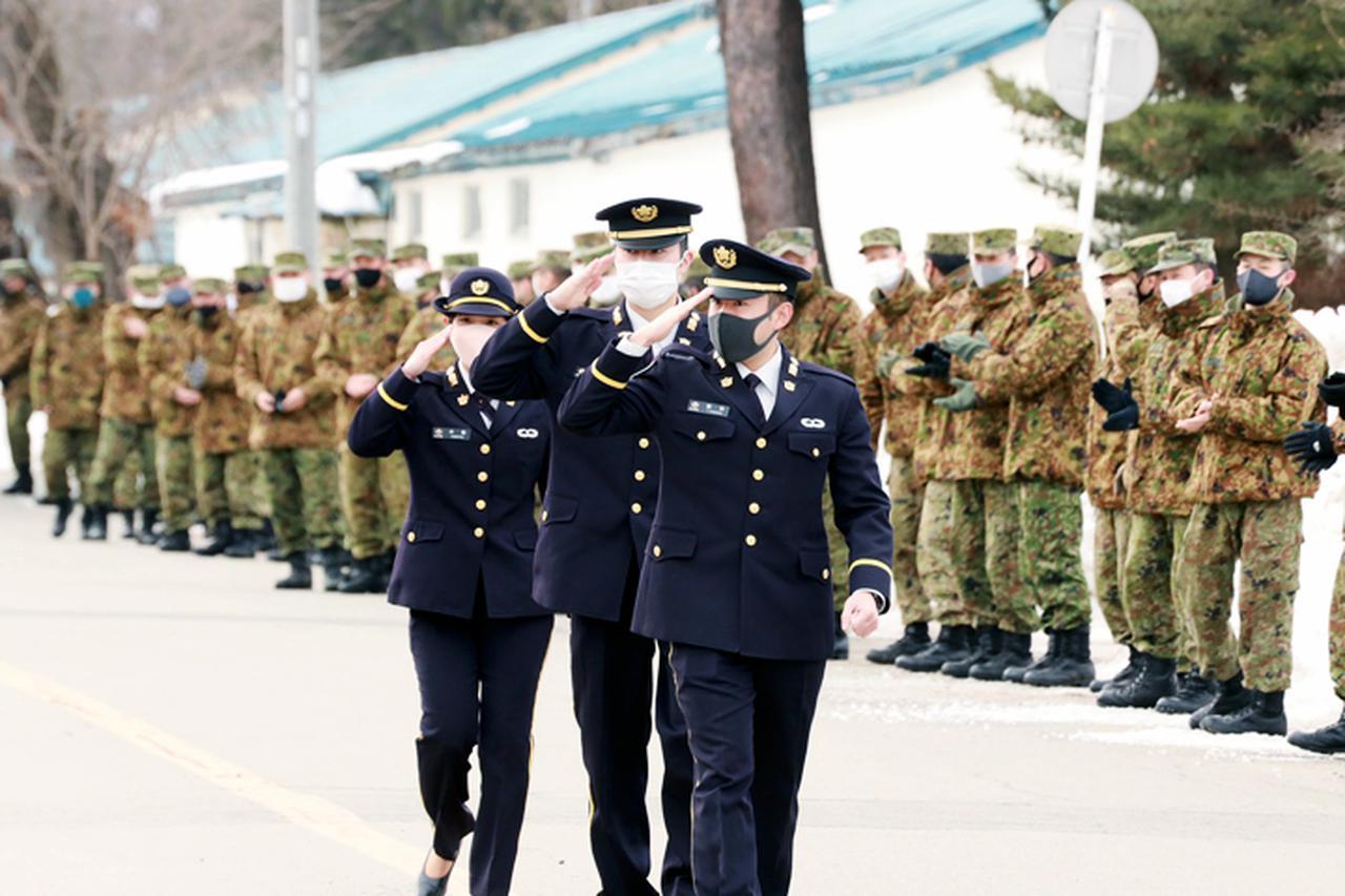 画像2: 20普連に幹部候補生3人着隊 幹部の一歩踏み出す 神町駐屯地