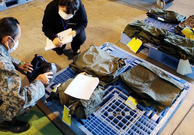 画像: 展示にバリエーションを 空自の被服13点が仲間入り|静岡地本