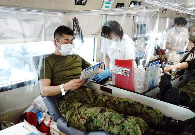 画像5: 献血に協力「社会貢献を続けたい」|岩見沢駐屯地
