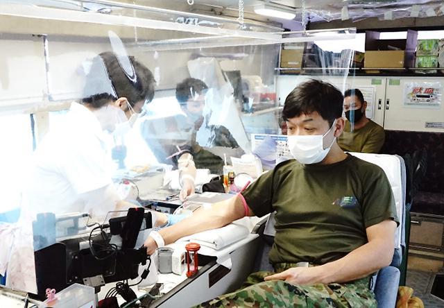 画像3: 献血に協力「社会貢献を続けたい」|岩見沢駐屯地