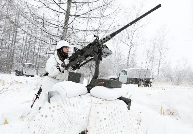 画像: 航空攻撃対処(重迫撃砲小隊)