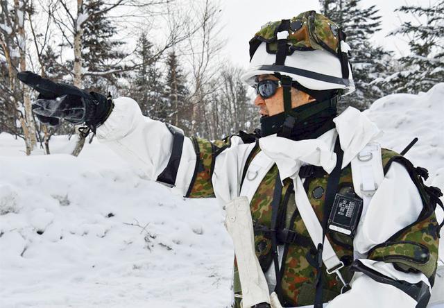 画像: 現地指導する戦闘団長