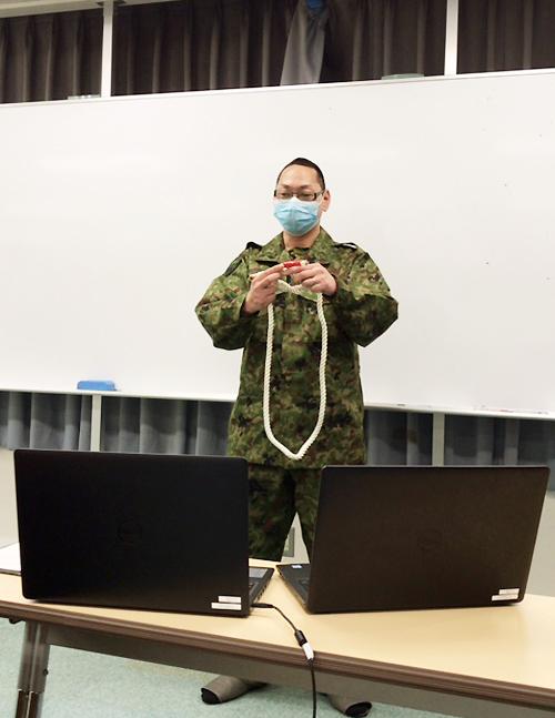 画像: 高校生がリモートで自衛隊体験 チャットで質問も| 神奈川地本