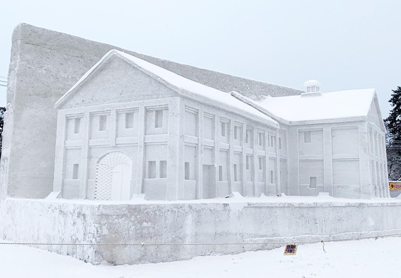 画像2: 「コロナ禍でも笑顔を」弘前城雪燈籠まつりに協力 弘前駐屯地