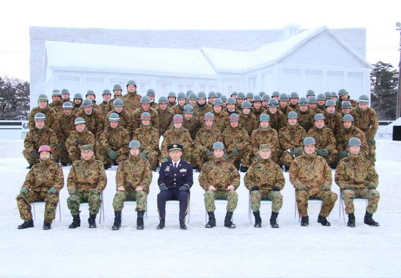 画像13: 「コロナ禍でも笑顔を」弘前城雪燈籠まつりに協力 弘前駐屯地
