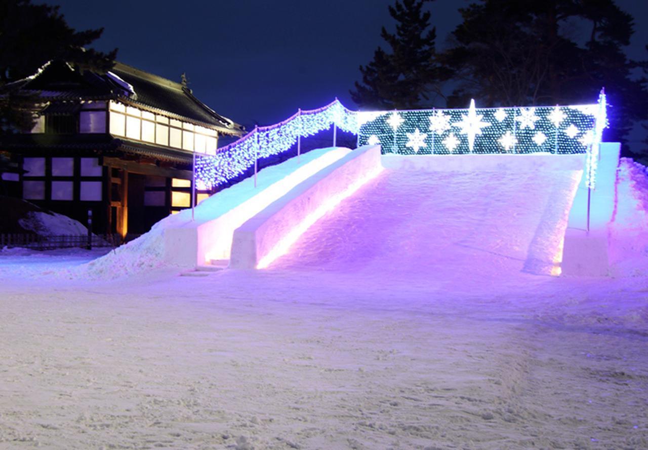 画像4: 「コロナ禍でも笑顔を」弘前城雪燈籠まつりに協力 弘前駐屯地