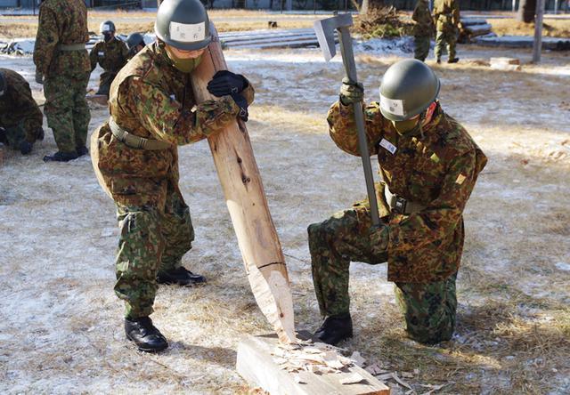 画像: 1施設団が新隊員後期教育を担任 41人が特技習得|古河駐屯地