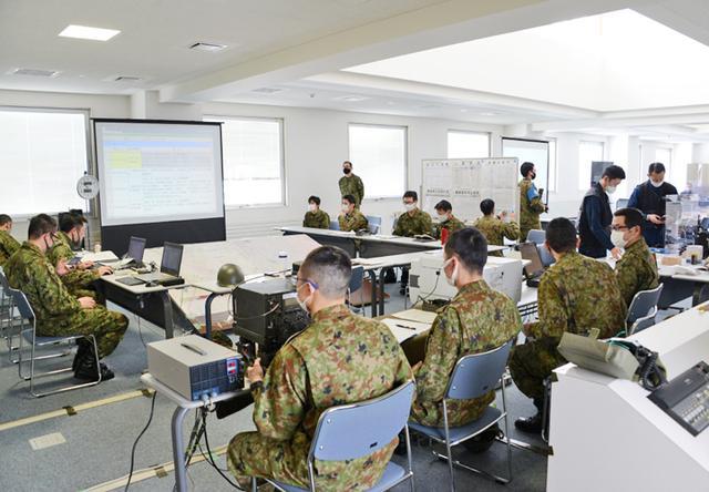 画像: 美瑛町災害対策本部に群指揮所を開設