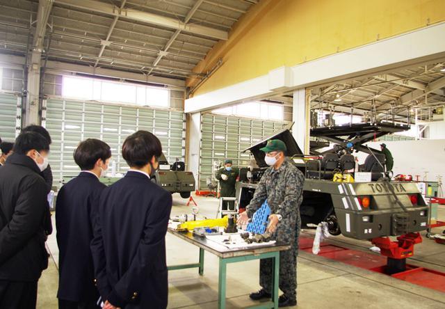 画像1: 車両整備分隊