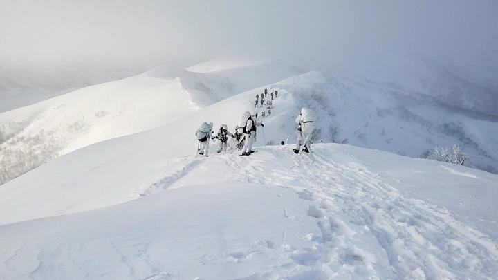 画像1: 1月27日:ニセコ地区 アンヌプリ山頂にて