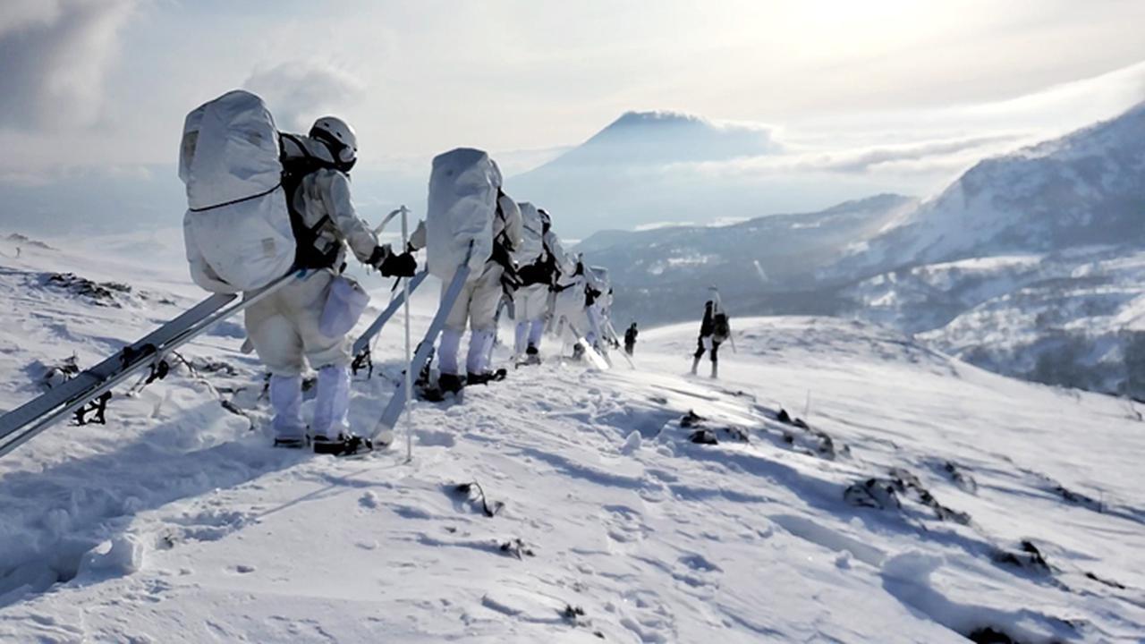 画像6: 1月27日:ニセコ地区 アンヌプリ山頂にて