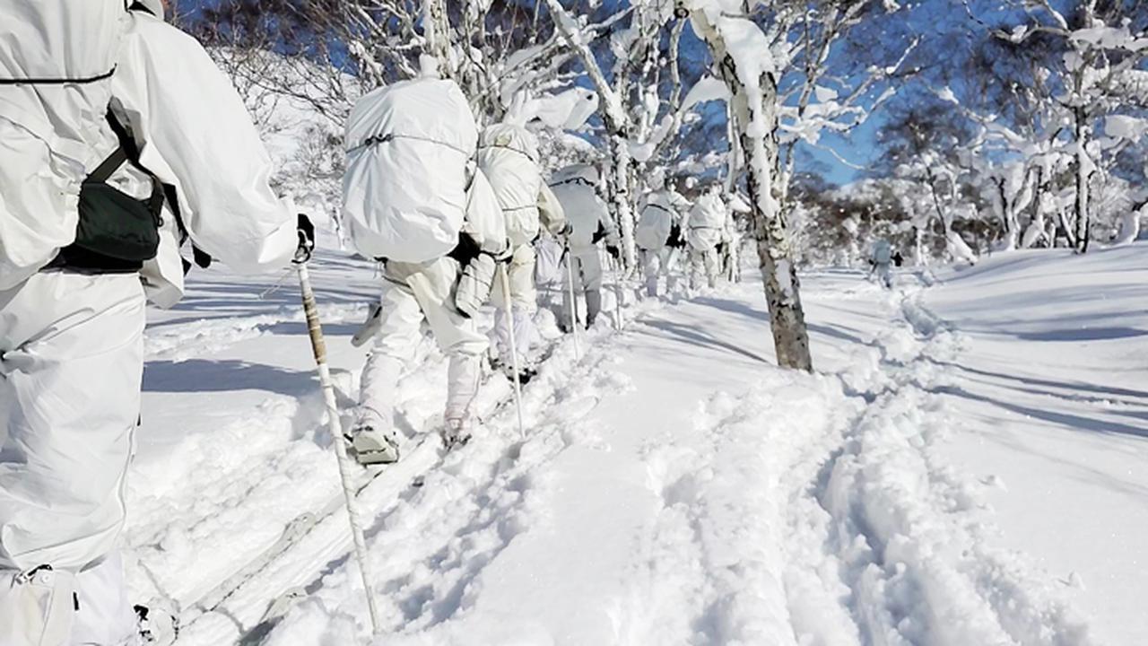 画像2: 1月27日:ニセコ地区 山岳地生存機動