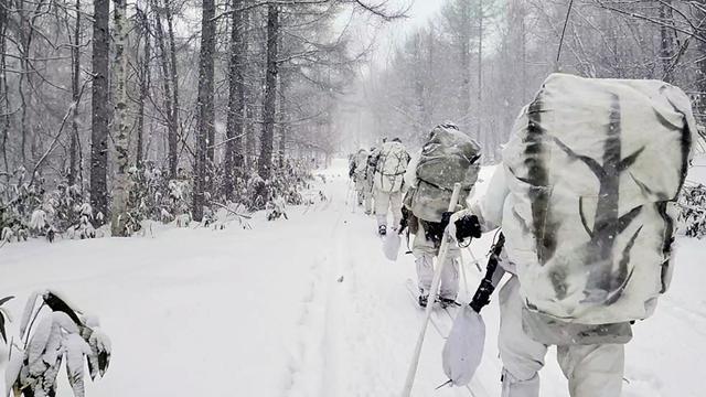 画像: 2月20日:北海道大演習場 総合訓練