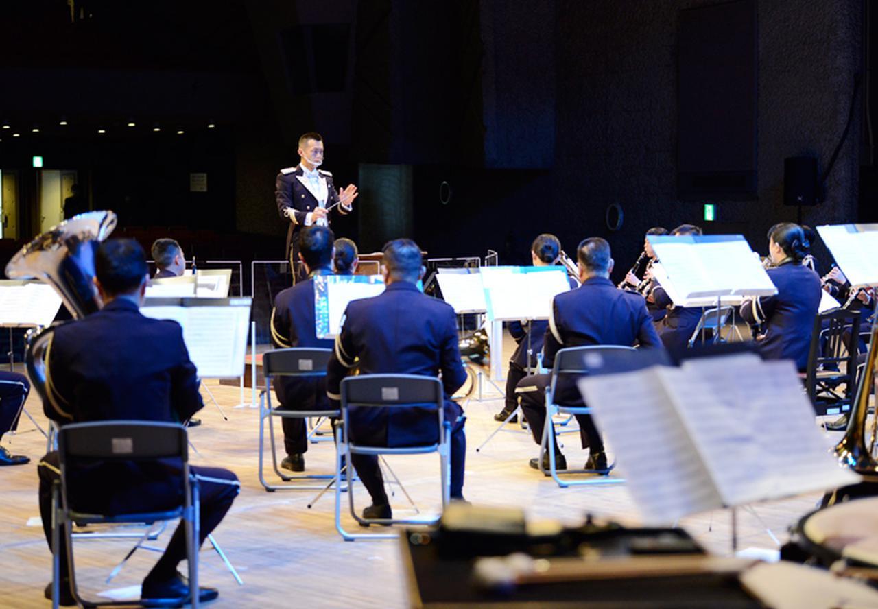 画像: 西武方面音楽隊(提供:西部方面総監部)