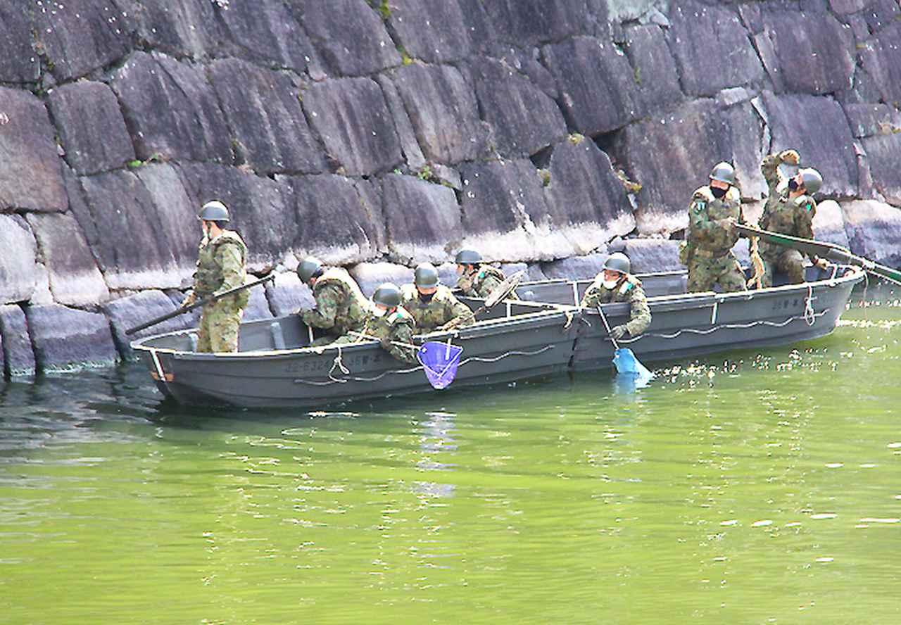 画像3: レンジャー隊員が大阪城で訓練 美化にも貢献 |伊丹駐屯地