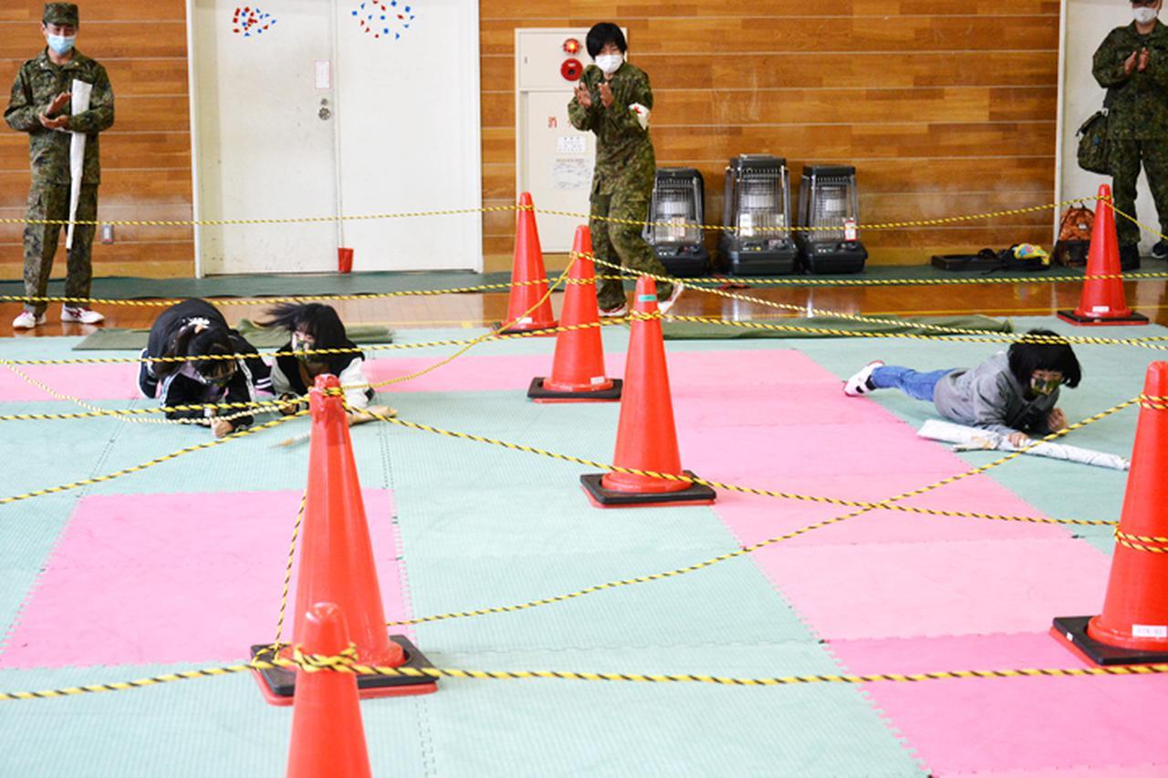 画像2: 小中学生の体験学習を支援 戦車の試乗も|玖珠駐屯地