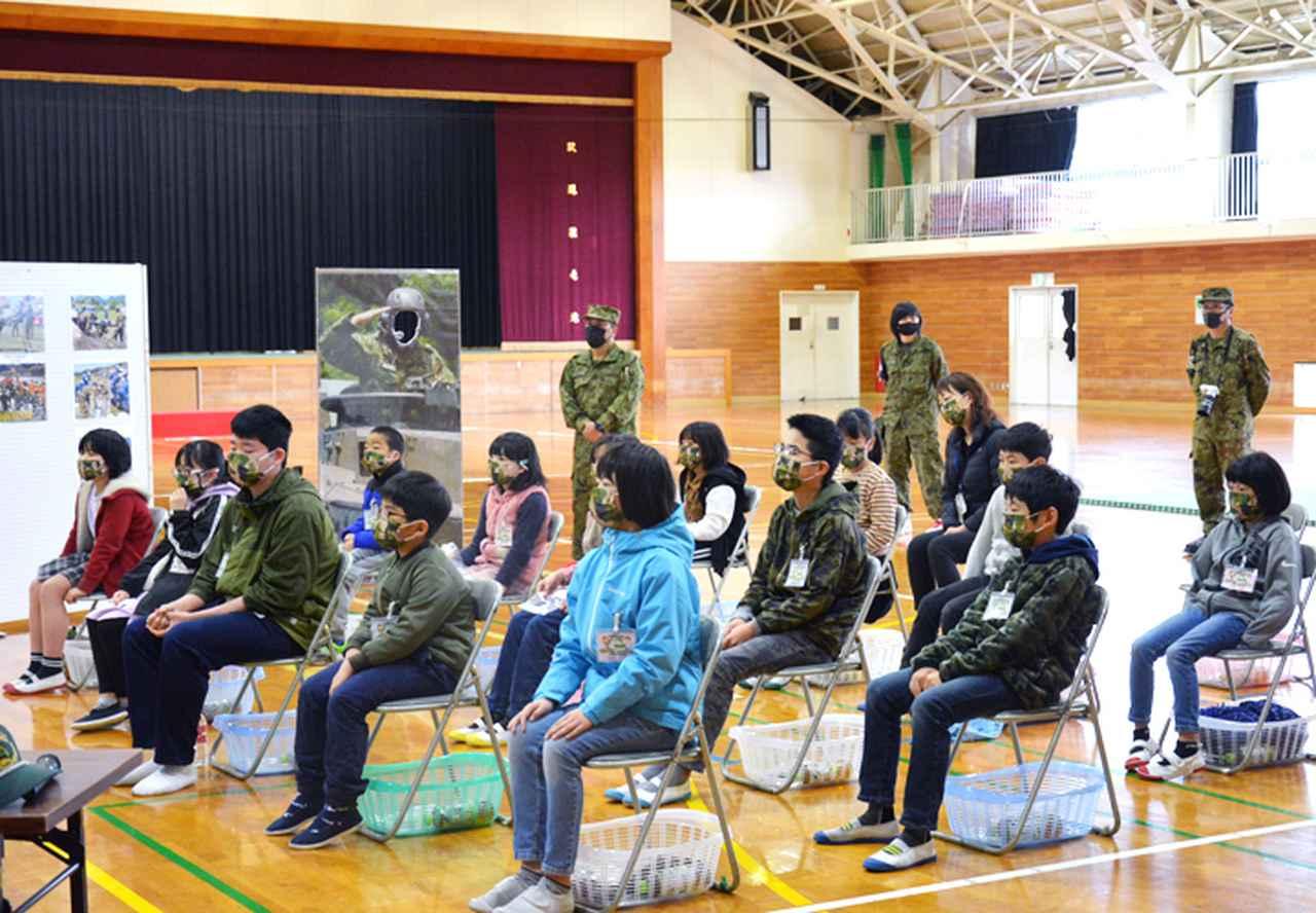 画像1: 小中学生の体験学習を支援 戦車の試乗も|玖珠駐屯地