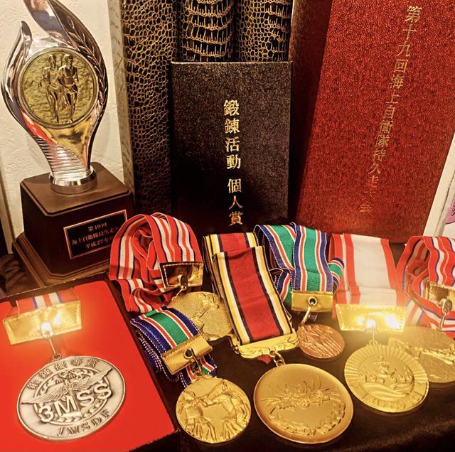画像: 各種競技会のメダルや優等賞のメダル等