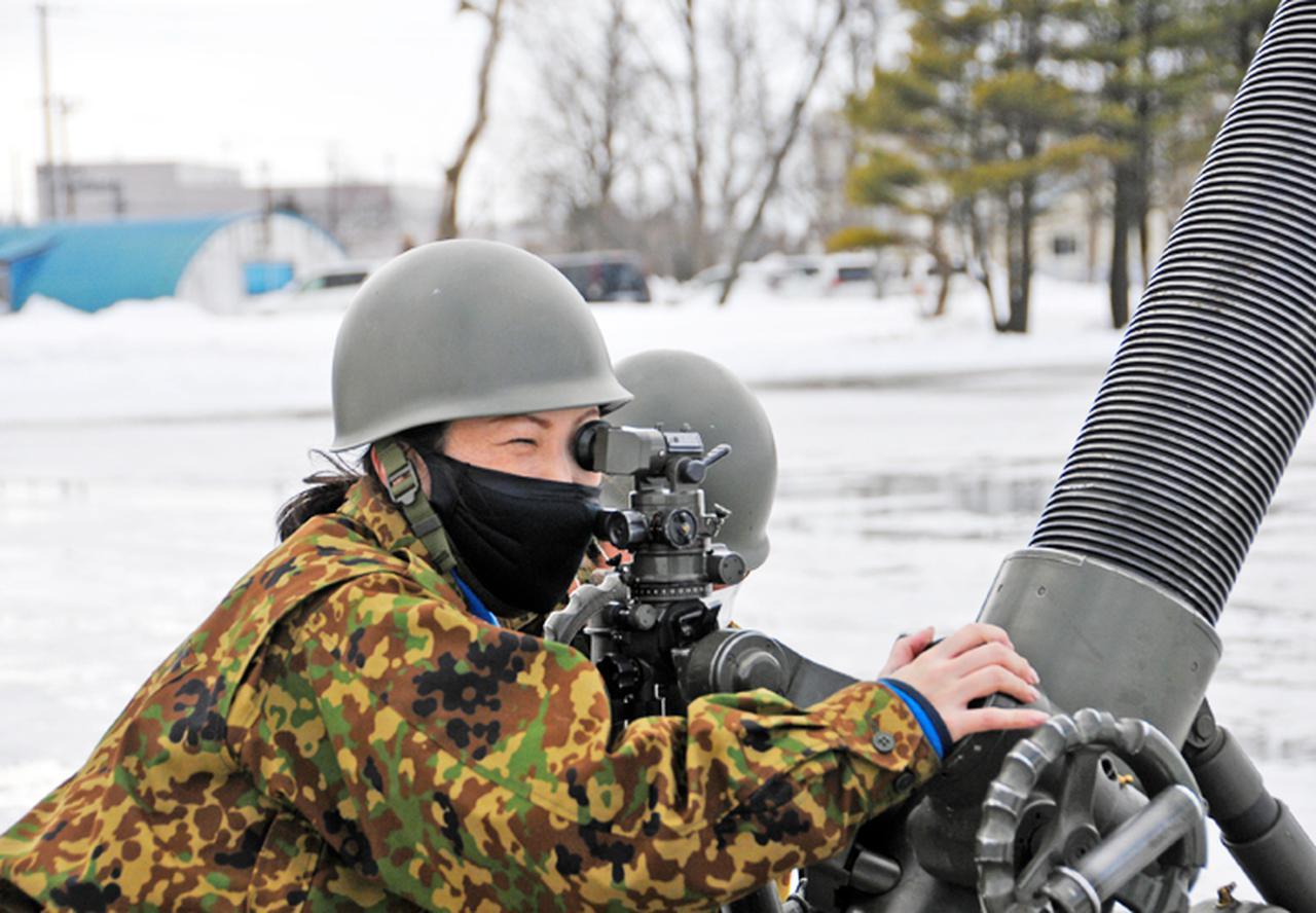画像3: 52普連で即自招集訓練 砲手競技会で特技能力を向上|真駒内駐屯地