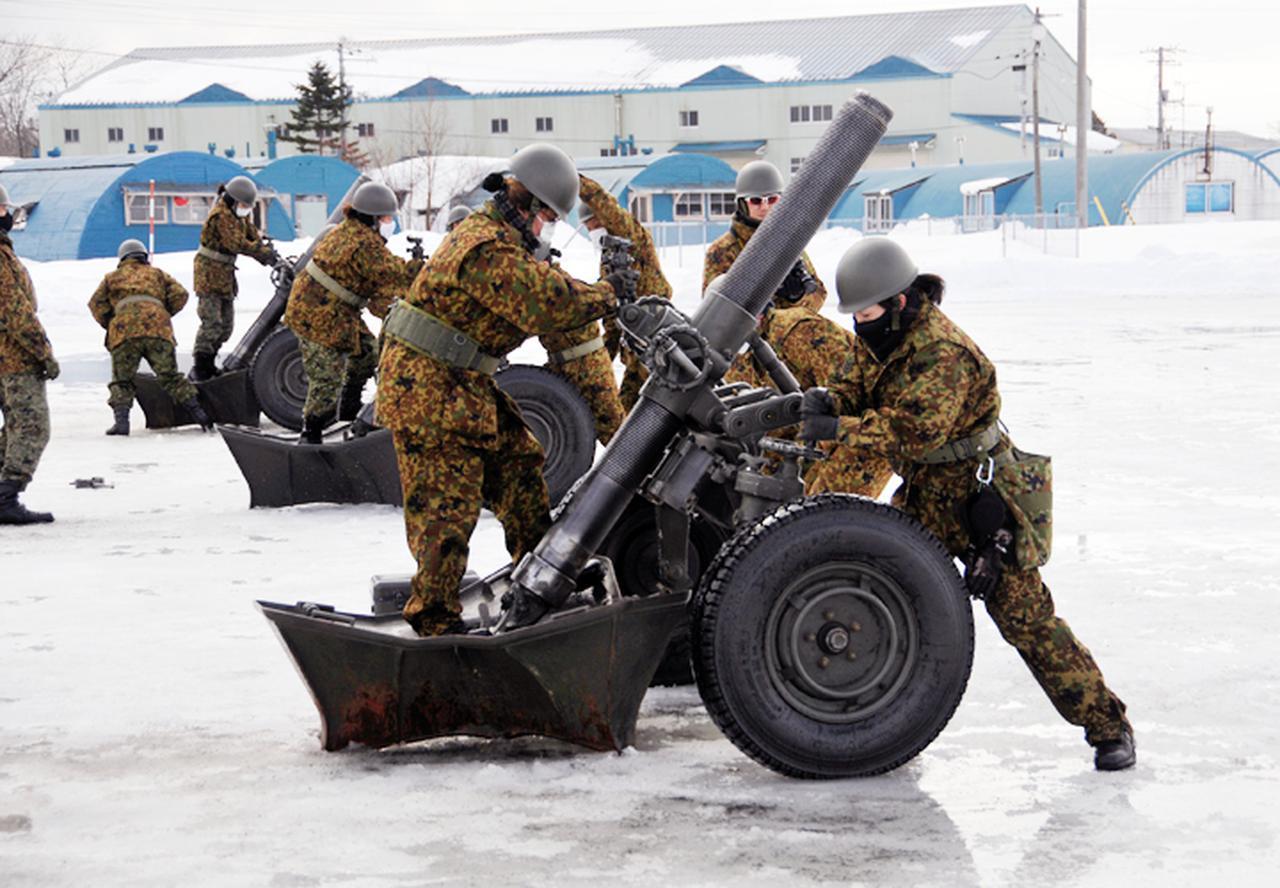 画像1: 52普連で即自招集訓練 砲手競技会で特技能力を向上|真駒内駐屯地