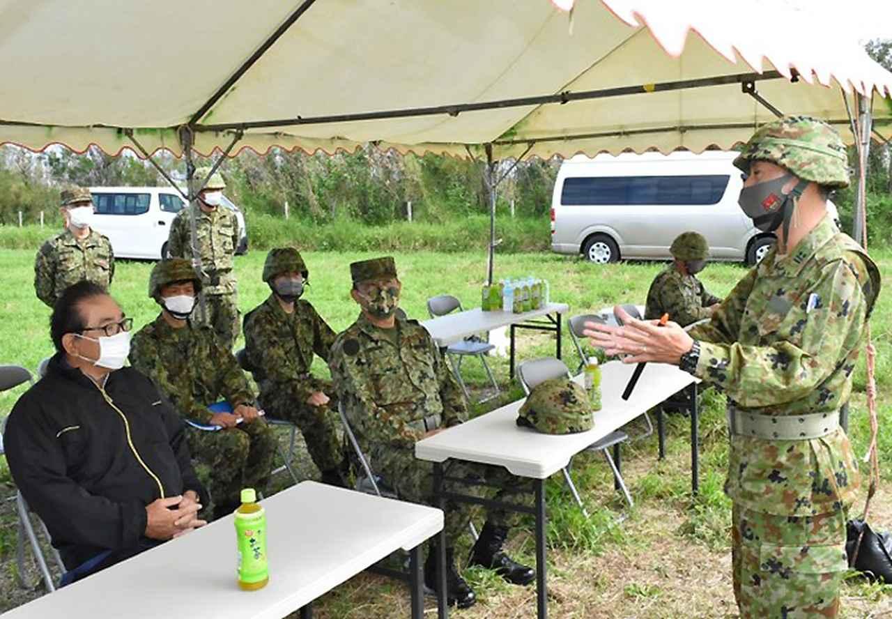 画像3: 沖縄県伊江島で不発弾処分 平成26年以来6年ぶり|陸自15旅団101不発弾処理隊