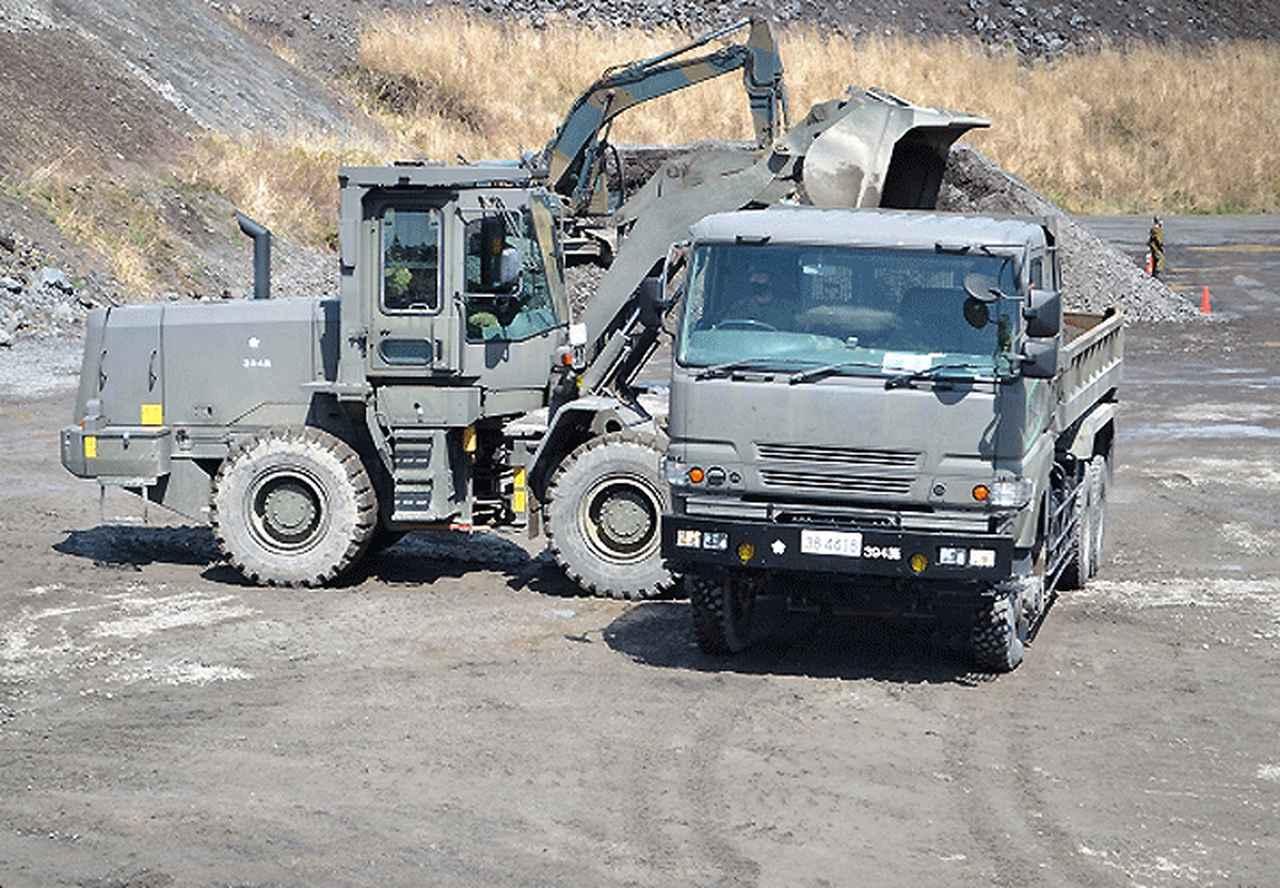 画像4: 東富士演習場定期整備に2直接支援中隊が参加|高田駐屯地