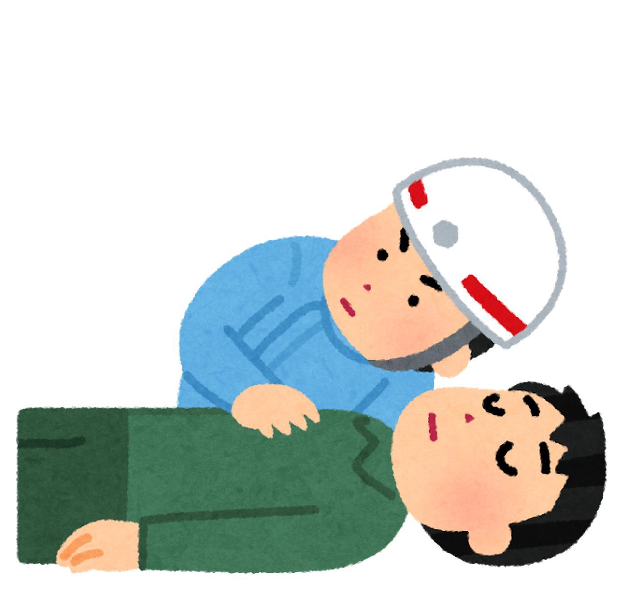 画像: ・CPA(心肺停止)状態の方への活動
