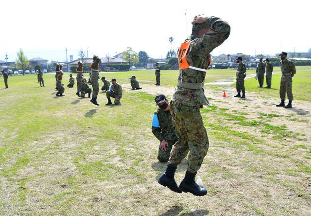 画像2: レンジャー訓練希望の45人に事前資格検査 国分駐屯地