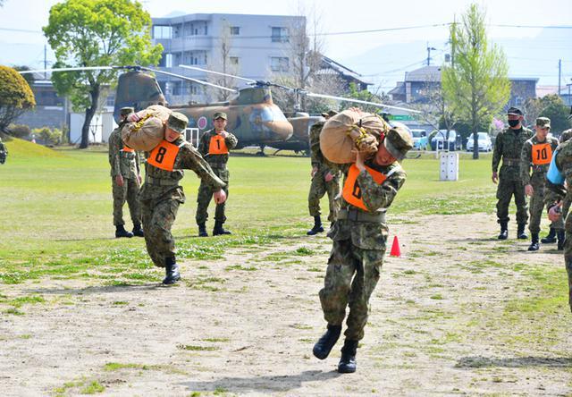 画像3: レンジャー訓練希望の45人に事前資格検査 国分駐屯地