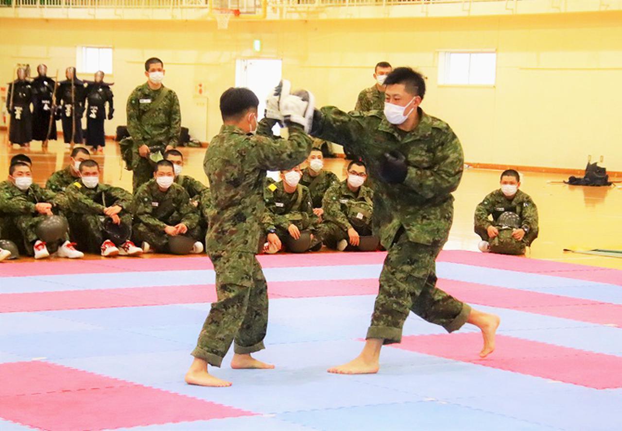 画像1: 拳法訓練隊の研修