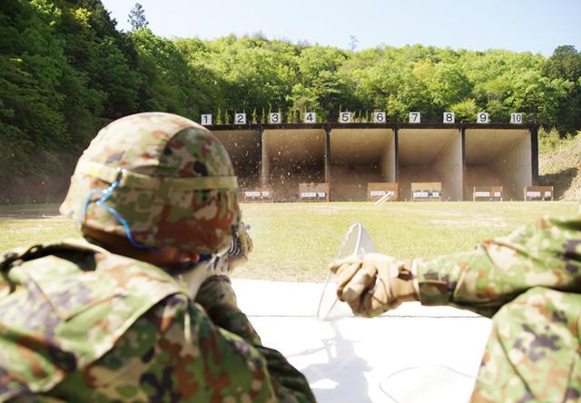 画像6: 入隊後1カ月、自衛官候補生が初めての実弾射撃|福知山駐屯地