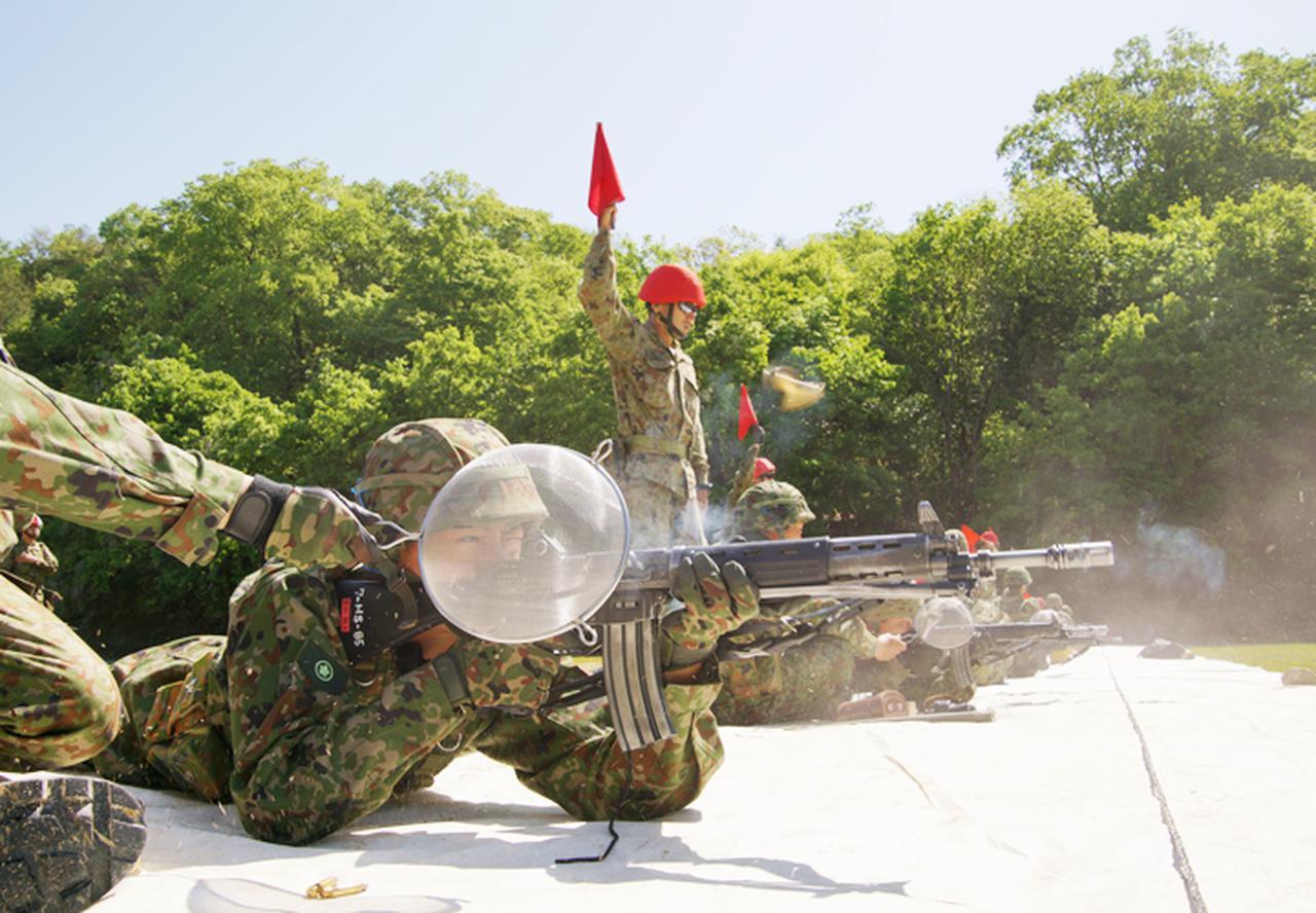 画像7: 入隊後1カ月、自衛官候補生が初めての実弾射撃|福知山駐屯地