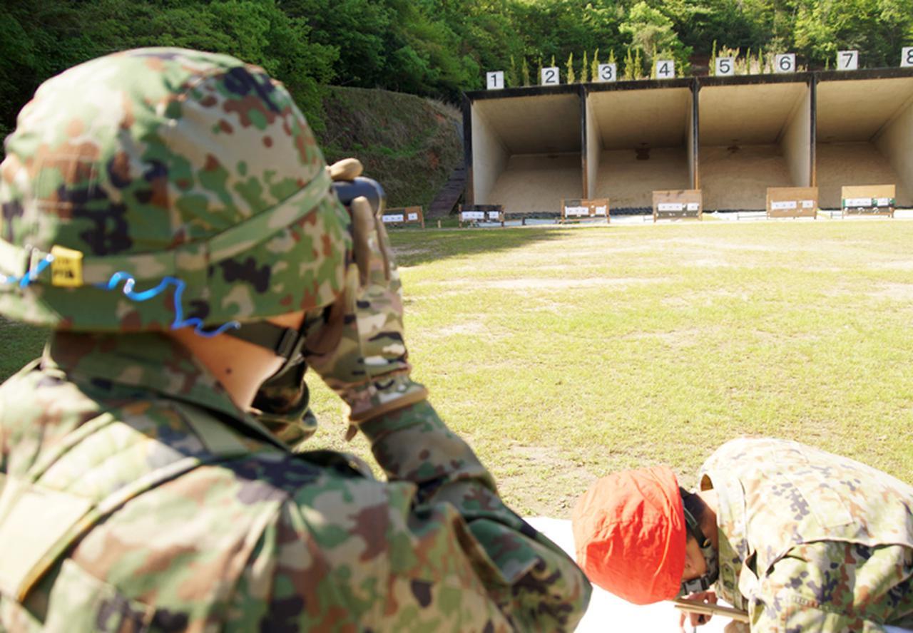 画像5: 入隊後1カ月、自衛官候補生が初めての実弾射撃|福知山駐屯地