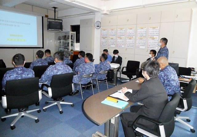 画像1: 官民共同 新型魚雷試験発射を支援 海自鹿児島音響測定所