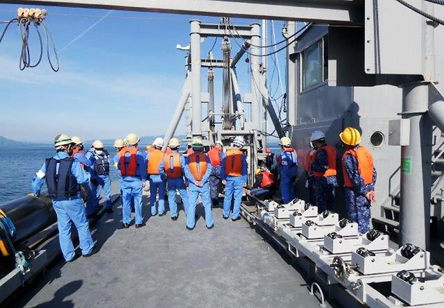 画像4: 官民共同 新型魚雷試験発射を支援 海自鹿児島音響測定所