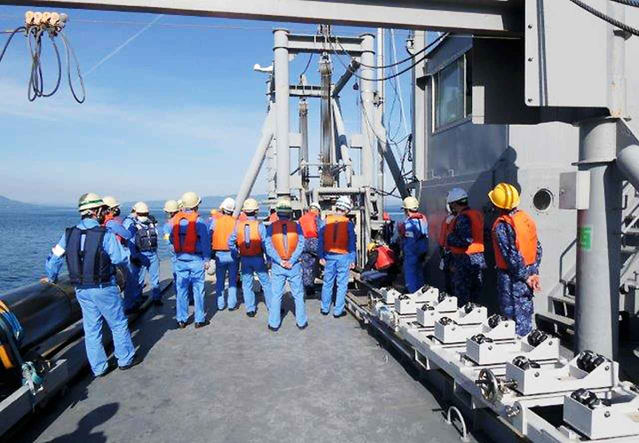 画像4: 官民共同 新型魚雷試験発射を支援|海自鹿児島音響測定所