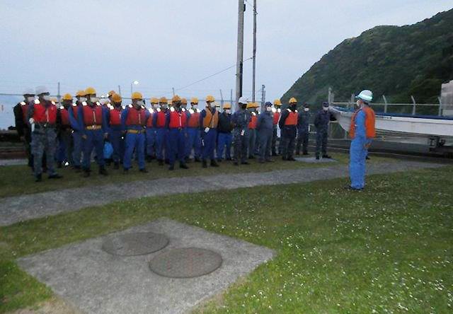画像3: 官民共同 新型魚雷試験発射を支援 海自鹿児島音響測定所