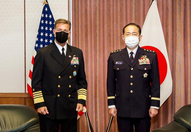 画像4: 米インド太平洋軍司令官 山崎統幕長らと会談|統合幕僚監部