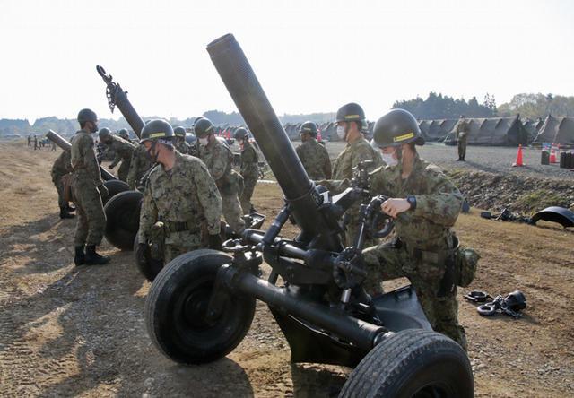 画像20: 春季演習場整備に36普連 訓練施設の機能を回復|伊丹駐屯地